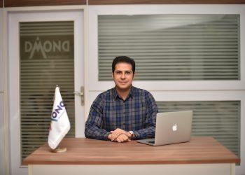 عکس اقای ظریفپور قائممقام مدیرعامل شتابدهنده دیموند